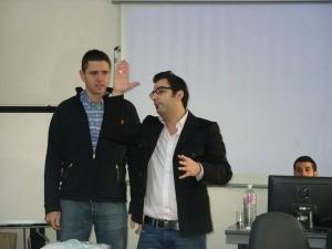 المدربان: عماد بنسعيد  والمهندي شبيل