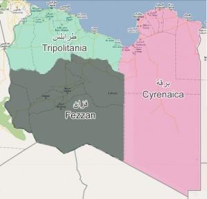 التقسيم الإداري للمملكة الليبية 1951-1963